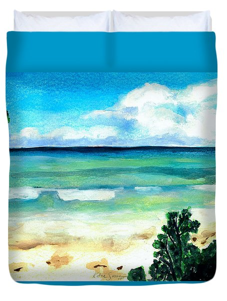 The Beach Duvet Cover