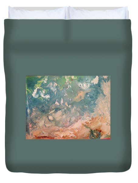 The Beach  Duvet Cover by Margalit Romano