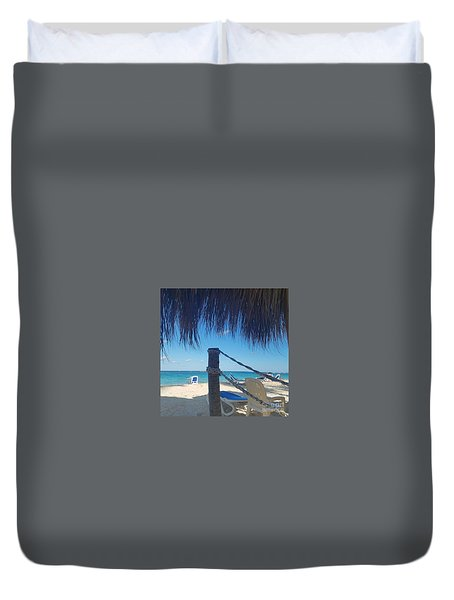 The Beach's Edge Duvet Cover