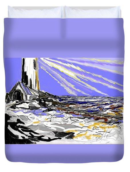 The Beacon Duvet Cover