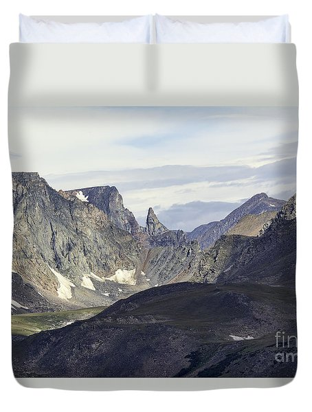 The Bears Tooth Duvet Cover