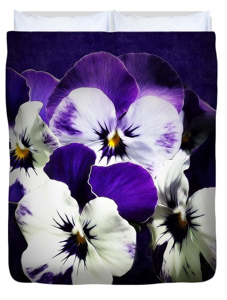 The Beauties Of Spring Duvet Cover