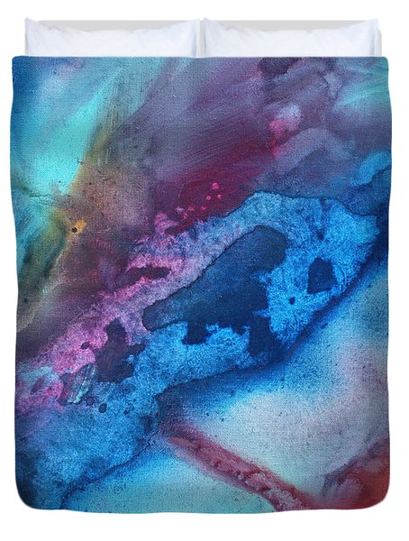 The Beauty Of Color 1 Duvet Cover by Megan Duncanson