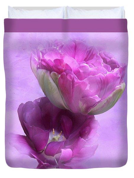 The Beauty Of Flowers Duvet Cover