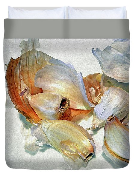 The Beauty Of Garlic Duvet Cover