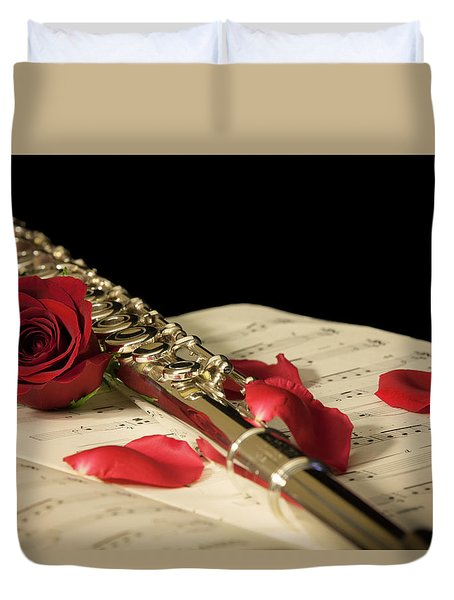 The Beauty Of Music Duvet Cover