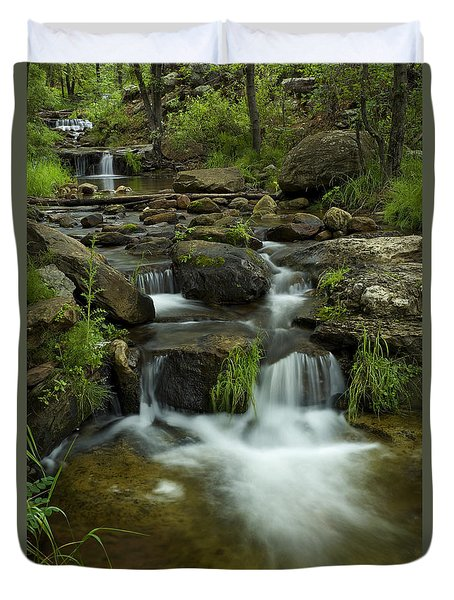 The Beauty Of Nature Duvet Cover by Sue Cullumber