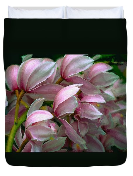The Beauty Of Orchids Duvet Cover