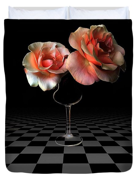 The Beauty Of Roses Duvet Cover