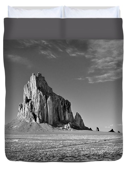 The Beauty Of Shiprock Duvet Cover