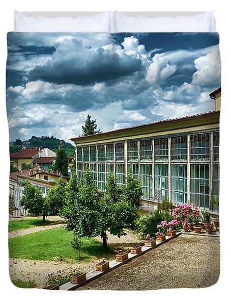 The Beauty Of The Boboli Gardens Duvet Cover