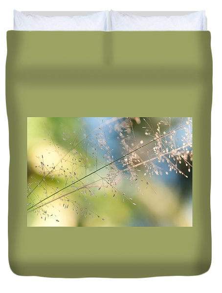The Beauty Of The Earth. Natural Watercolor Duvet Cover