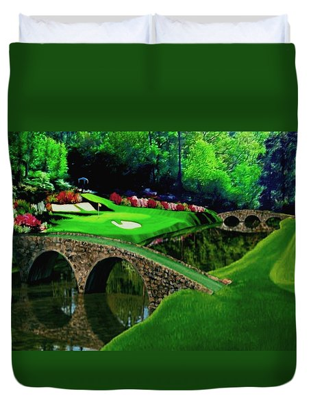 The Beauty Of The Masters Cropped Version Duvet Cover
