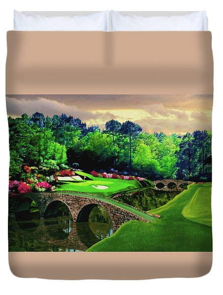 The Beauty Of The Masters Duvet Cover by Ron Chambers