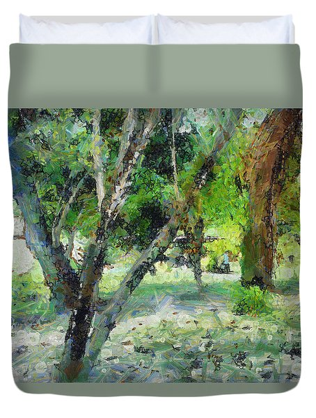 The Beauty Of Trees Duvet Cover