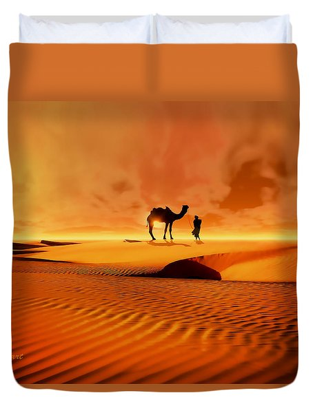 The Bedouin Duvet Cover