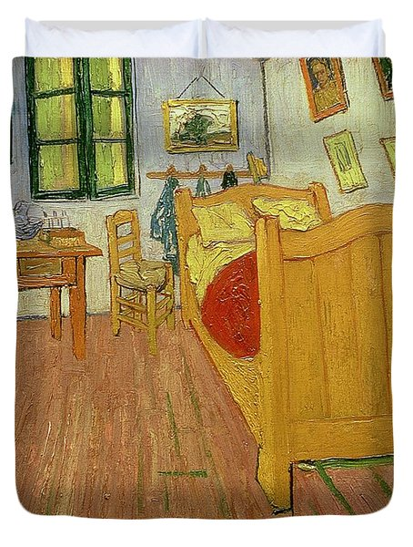 The Bedroom Duvet Cover by Vincent van Gogh