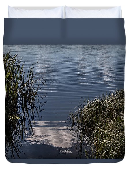 Duvet Cover featuring the photograph The Beginning by Odd Jeppesen