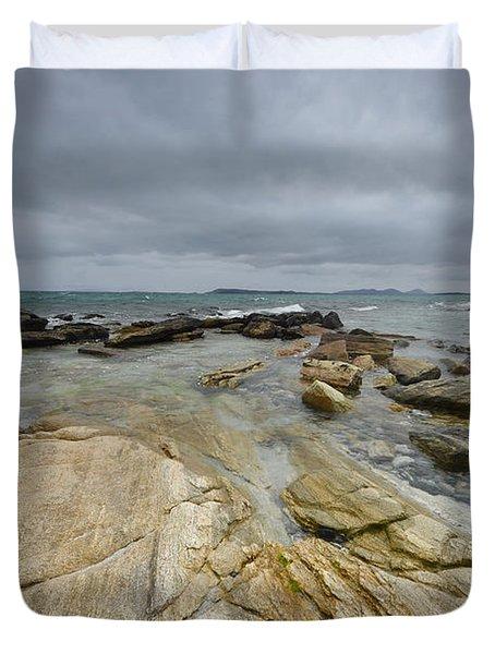 The Berneray Coast Duvet Cover
