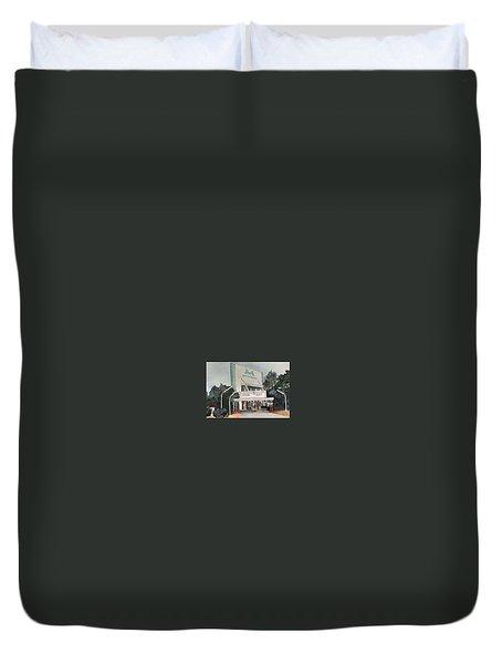 The Beverly Drive Inn Duvet Cover