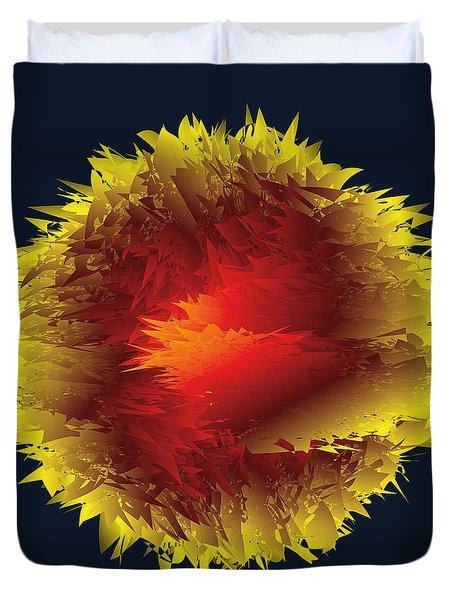The Big Bang D1 Duvet Cover