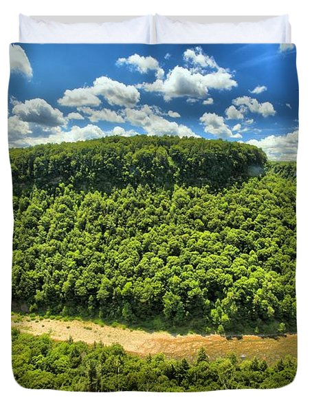 The Big Bend Duvet Cover by Adam Jewell