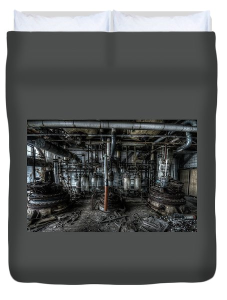 The Big Experiment  Duvet Cover by Nathan Wright