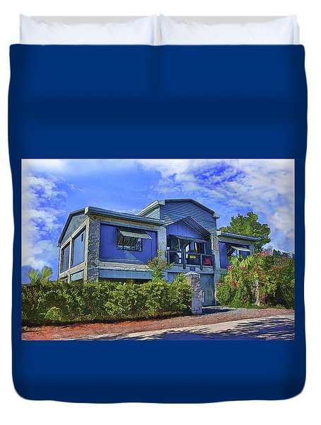The Big House Duvet Cover
