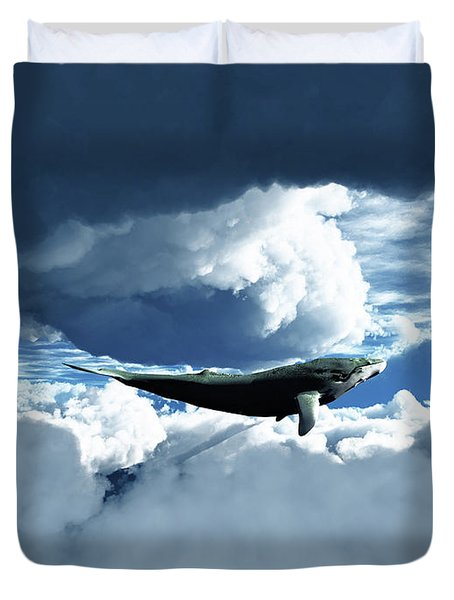 The Big Move Duvet Cover by Eric Nagel