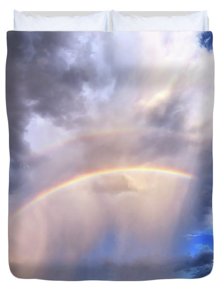 The Big Picture Duvet Cover