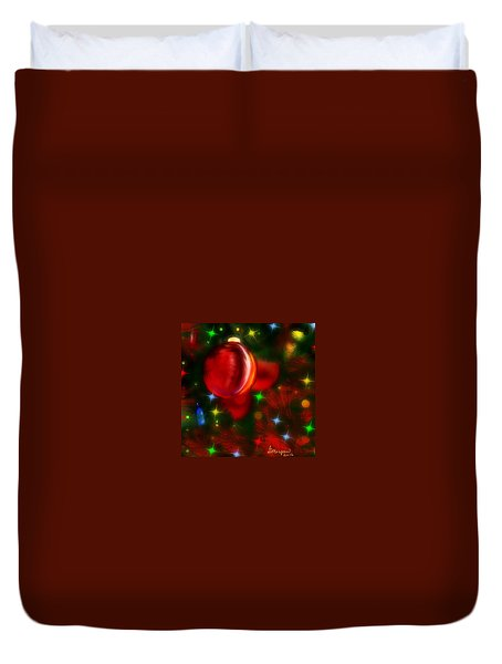 The Big Red Duvet Cover