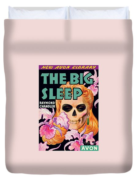 Duvet Cover featuring the painting The Big Sleep by Paul Stahr