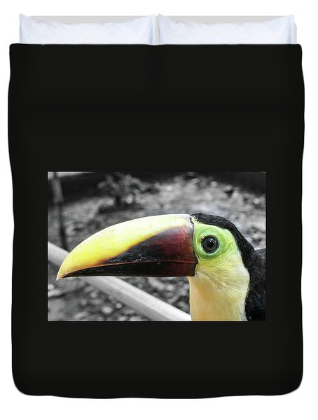 The Big Toucan Duvet Cover