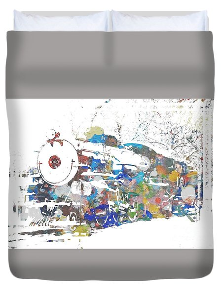 The Big Train Duvet Cover