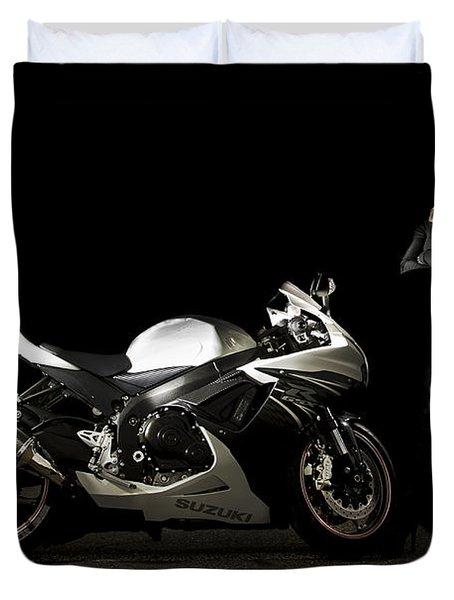 The Biker Duvet Cover