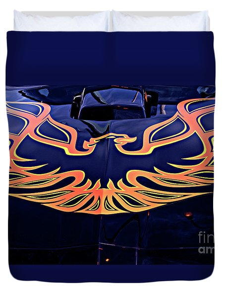 The Bird - Pontiac Trans Am Duvet Cover
