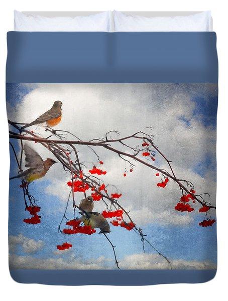 The Bird Tree Duvet Cover