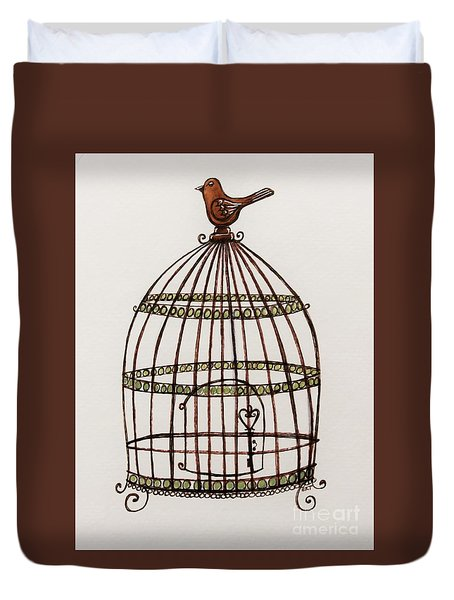 The Birdcage Duvet Cover