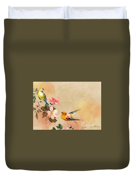 The Birds Duvet Cover
