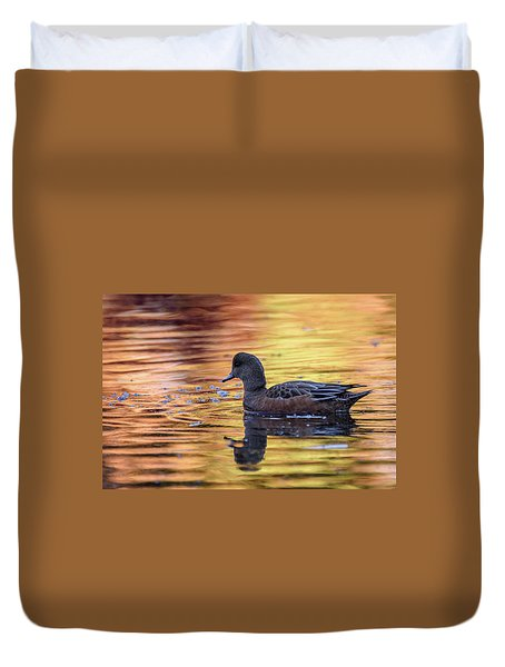 The Birds Of Autumn No. 4 Duvet Cover