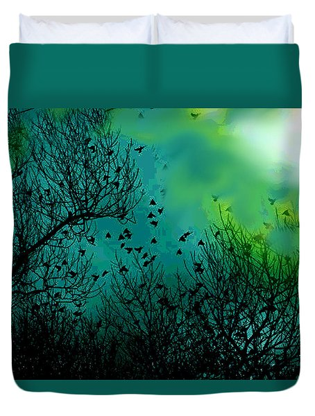 The Birds Of The Air  Duvet Cover