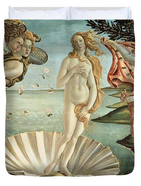 The Birth Of Venus Duvet Cover