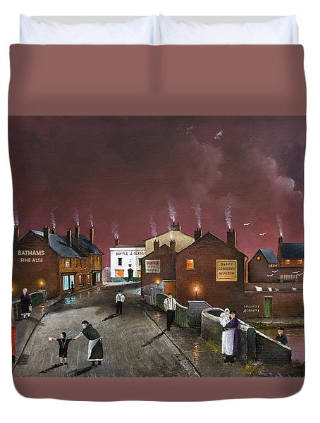 The Black Country Museum Duvet Cover