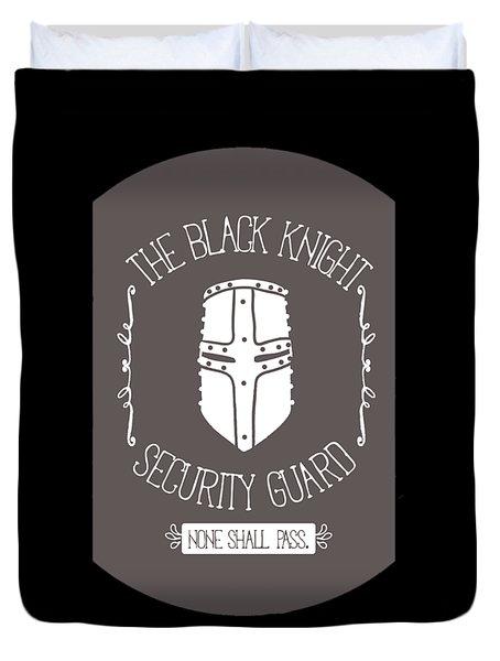 The Black Knight Duvet Cover