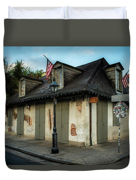 The Blacksmith Shop Duvet Cover