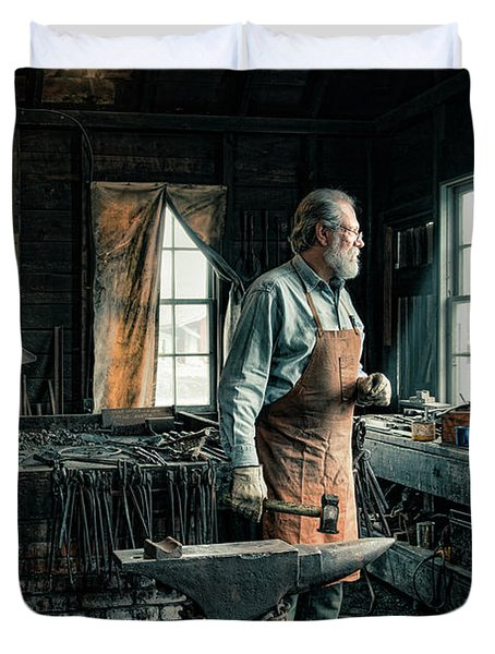 The Blacksmith - Smith Duvet Cover