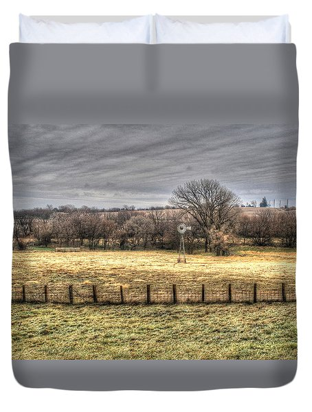 The Bleak Season Duvet Cover