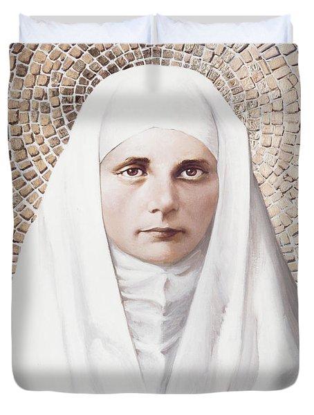 The Blessed Virgin Mary - Lgbvm Duvet Cover