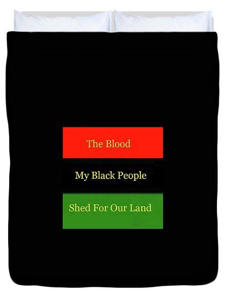The Blood Duvet Cover