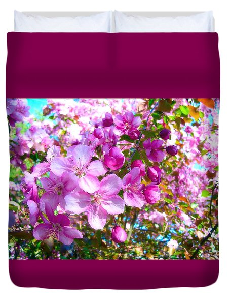 The Blossoms Of Spring Duvet Cover